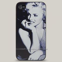 Чехол для iPhone 4 и 4s Marilyn Monroe