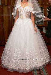 Свадебное платье Венецианское кружево