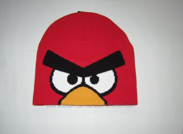 Шапочка Angry Birds от H&M