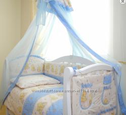 Акция Детская постель Twins Comfort Мишки со звездами C-017