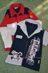 фирменные, модные рубашки   рост 92-98 см.