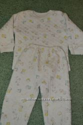 Тёплая пижама на  3-4 годика