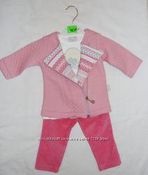 Яркий и модный комплект-тройка для девочек, Турция. 62 размер