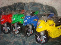 Мотоцикл беговел детский пластик 2 колеса Орион 501