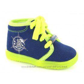 Кожаные демисезонные ботинки Bartek, Renbut, Woopy.
