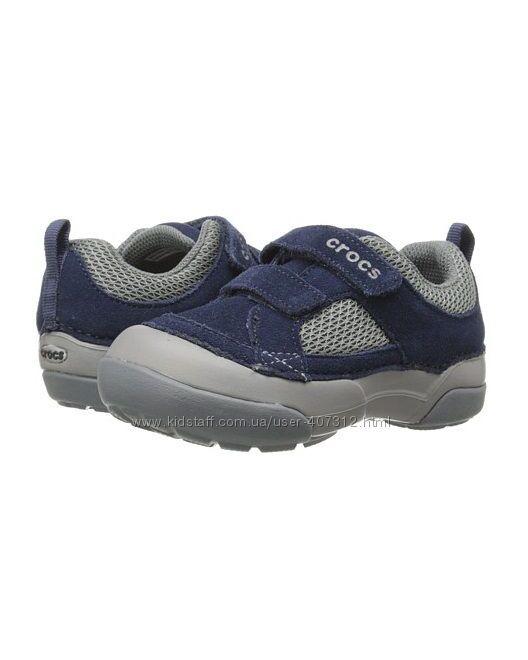 Ультралёгкие кроссовки Crocs для мальчика, размер 24/25