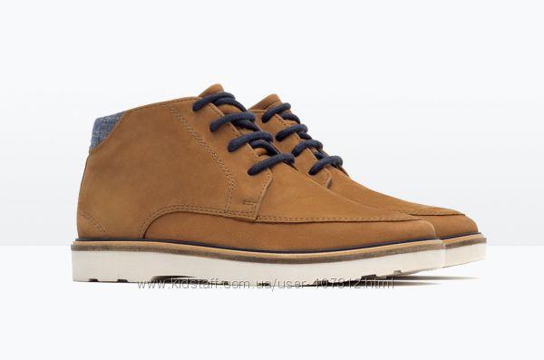 Крутые ботинки для мальчика Зара. Размеры 31, 33