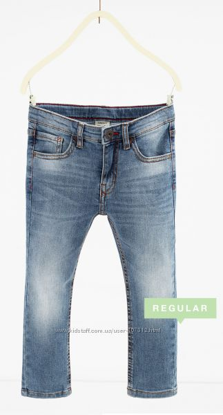Штаны и джинсы для мальчика от испанского бренда Zara