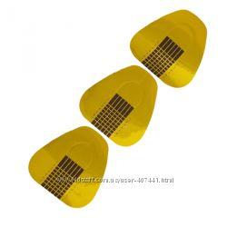 Форма 500 шт для наращивания ногтей  широкая