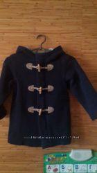 стильное деми пальто BENETTON р. XXS, MAYORAL р. 104 на 2-5 лет