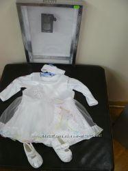 комплект для  нового года, крещения или выписки р. 56-62 для принцессы