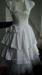 Маленькое свадебное платьеДетское