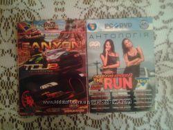 Компьютерные игры на CD - дисках
