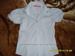 Рубашка-блузка SILVIAN HEACH 4 г новая