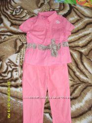 Рубашка FUN&FUN и брючки GEOX  4г.