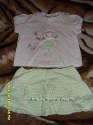 Прикольный летний наряд для девочки 12м