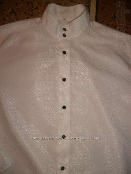 Нарядная мужская рубашка-ШЁЛК