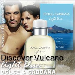 Распив Dolce&Gabbana Light Blue Discover Vulcano Pour Homme, оригинал, в на