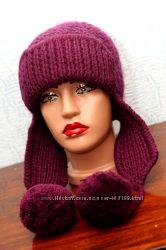 Очень теплая шапка-ушанка, классного качества