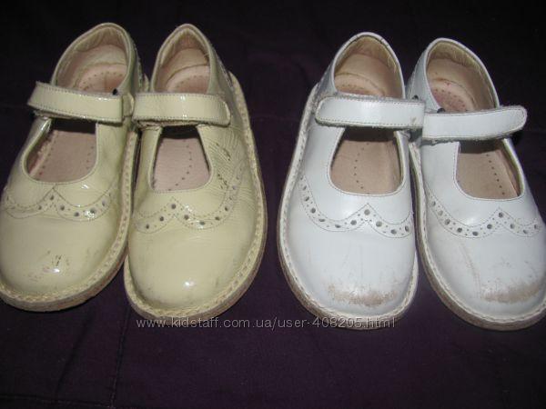 Туфли для девочек натур. кожа