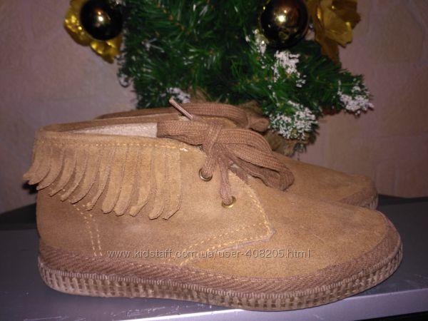 Кожаные ботинки eko