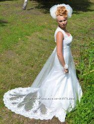 шикарне весільне плаття рибка