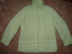 Демисезонная куртка мятного цвета