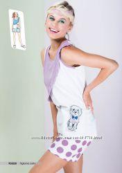 Пижамы  с шортиками  MilkandHoney Италия