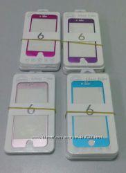 Защитное стекло с алюминиевой панелью iPhone 6