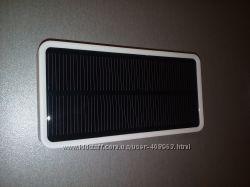 Внешний аккумулятор, Power Bank 6000mAh с солнечной батареей