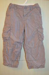 Штаны плащёвка на хб подкладке рост 92-98см. Спортивные штаны рост 80-92см
