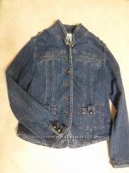 Джинсовый пиджак ТСМ  европейский размер 40-42  в идеальном состоянии