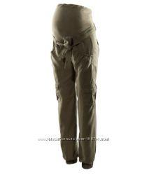 Штаны хлопок для беременных H&M р-р 40-42 европ