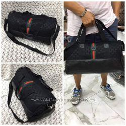 Дорожные сумки Louis Vuitton, Gucci  разные цвета