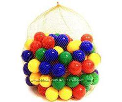 Шарики, мячики для сухого бассейна, палатки. 8 см.