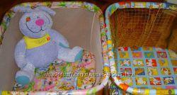 Детский манеж с крупной и мелкой сеткой, игровой центр, Укр.