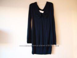 платье синее-S-290гр