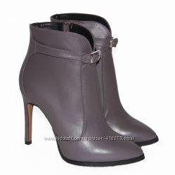 Демисезонные кожаные ботинки, ТМ NIVELLE