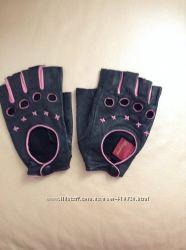 Перчатки без пальчиков кожа