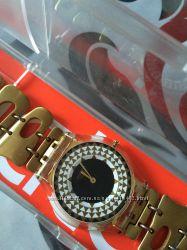 Знижка Стильний  швейцарський годинник Swatch в ідеальному стані