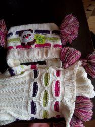 Продам зимнюю шапочку и шарф фирмы Raster