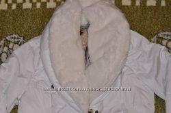 Біла демисезонна куртка Silvian Heach