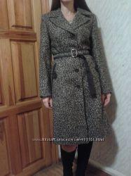 Пальто из шерсти, очень стройнит