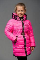 Очаровательные зимние курточки на силиконе, рост 122-146 см.