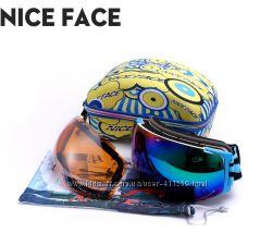 Лыжные маски, очки сноуборд Nice Face 2015