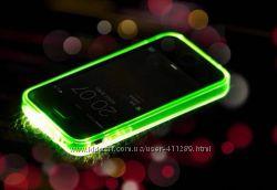 Светящиеся чехлы для iPhone 5, 6