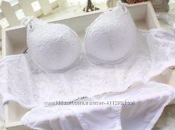 Белый набор белья, 75 А-В