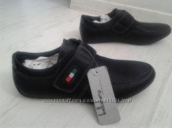 Новые туфли-мокасины на узкую ножку 37-38р 25см