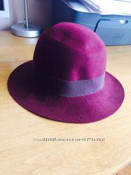 Шляпа новая фетр