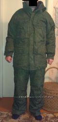 камуфляжный зимний, размер 48-5